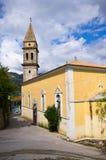 Kyrkliga Panagia Anafonitria i Skoulikado, Zakynthos, Grekland Royaltyfri Bild