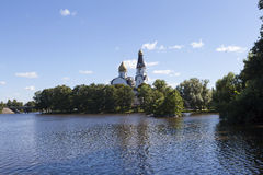 kyrkliga paul peter saints Sestroretsk Ryssland Royaltyfria Foton