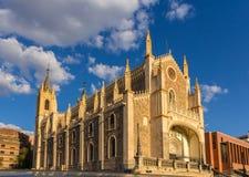Kyrkliga San Jeronimo el Realo i Madrid, Spanien Royaltyfri Bild