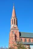 Kyrkliga Sankt Nikolaus i Zwiesel, Bayern Royaltyfri Foto