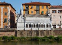 Kyrkliga Santa Maria della Spina, Pisa, Italien Royaltyfri Bild