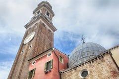 Kyrkliga Santi Apostoli i Venezia Arkivbilder
