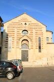 Kyrkliga Santo Stefano i Verona Arkivbilder