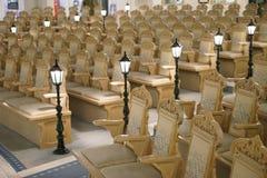 Kyrkliga Seat Royaltyfri Foto
