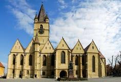 kyrkliga sibiu fotografering för bildbyråer