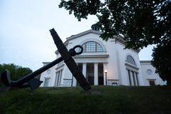 Kyrkliga Skeppsholmen stockholm sweden Arkivbild