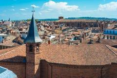 Kyrkliga St Jerome i Toulouse, Frankrike Arkivfoton
