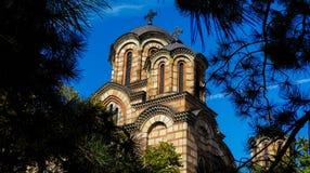 Kyrkliga St Mark, Belgrade royaltyfri foto