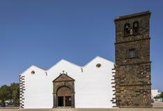 Kyrkliga St Mary av Betancuria Royaltyfri Foto