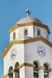 Kyrkliga St Nicholas i Kavala, Grekland Royaltyfria Bilder