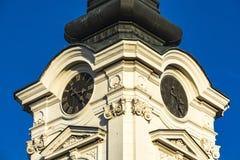 Kyrkliga St Nicholas i Sremski Karlovci, Serbien Fotografering för Bildbyråer
