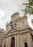Kyrkliga St Paul St Louis (Paris Frankrike), Royaltyfri Fotografi