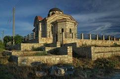 Kyrkliga St Peter och Paul, Bulgarevo by, Bulgarien Arkivbild