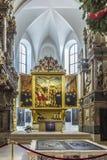 Kyrkliga St Peter och Paul Weimar Thüringen Royaltyfri Fotografi