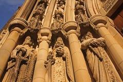 kyrkliga statyer Royaltyfri Foto