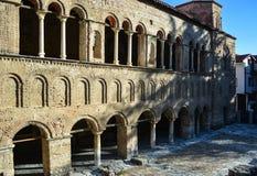 Kyrkliga StSophia i Ohrid arkivfoton