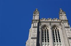 Kyrkliga tornspiror Arkivbild