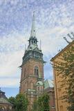 kyrkliga tyska stockholm Arkivbild