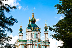 kyrkliga ukraine Royaltyfria Bilder