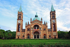 kyrkliga vienna Royaltyfri Bild