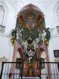 Kyrkliga Zelena Hora, huvudsakligt altare, UNESCO Arkivbilder