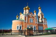 kyrkligt östligt ortodoxt Fotografering för Bildbyråer