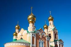 kyrkligt östligt ortodoxt Arkivfoto