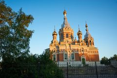 kyrkligt östligt ortodoxt Royaltyfri Foto