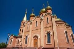kyrkligt östligt ortodoxt Royaltyfri Fotografi