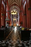 kyrkligt bröllop Royaltyfri Fotografi