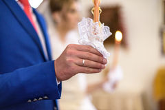 kyrkligt bröllop Royaltyfri Foto