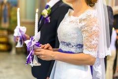 kyrkligt bröllop Arkivfoto