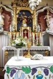 kyrkligt bröllop för bukett royaltyfri foto
