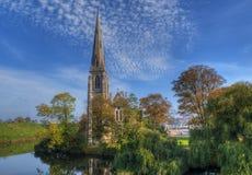 kyrkligt copenhagen engelska royaltyfria foton