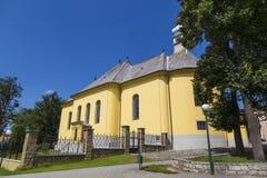 kyrkligt evangelikalt Spisska Bela slovakia Europa arkivfoto