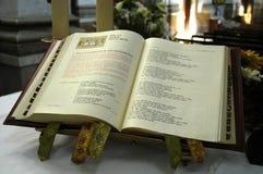 kyrkligt evangelium Arkivbilder
