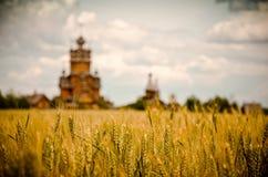 Kyrkligt fält Royaltyfria Bilder