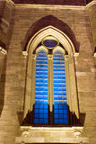 kyrkligt fönster 2 Arkivfoto