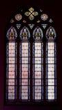 kyrkligt fönster Royaltyfri Foto