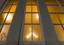 kyrkligt fönster Arkivfoton
