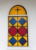 kyrkligt fönster Fotografering för Bildbyråer