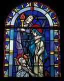 kyrkligt fönster Royaltyfria Bilder