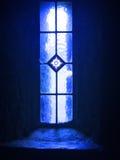 Kyrkligt fönster, monteringsMelleray abbotskloster, Waterford, Irland Royaltyfria Foton