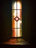 Kyrkligt fönster, monteringsMelleray abbotskloster, Waterford, Irland Royaltyfri Bild