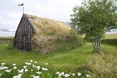 kyrkligt f gr iceland Royaltyfri Fotografi