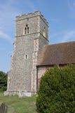kyrkligt flintatorn uk Arkivbild
