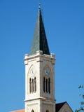 kyrkligt franciscan jaffa torn Royaltyfri Bild