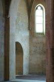 kyrkligt franskt inre gammalt Royaltyfria Bilder
