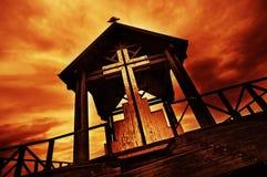 kyrkligt gammalt Fotografering för Bildbyråer