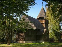 kyrkligt gammalt royaltyfri bild